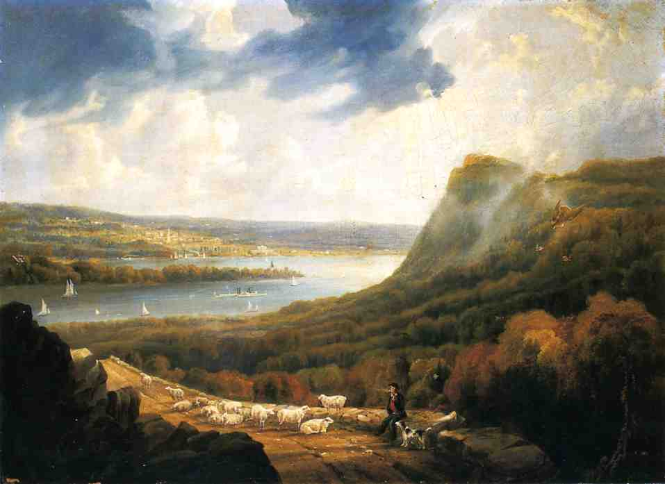 Havell's-View-of-the-Hudson-at-Haverstraw-Bay