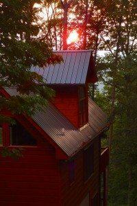 cabin-sunset-three