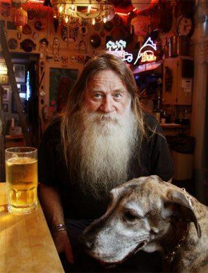 A Man and His Dog Evander Preston