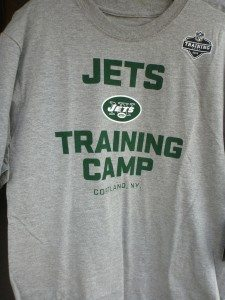 NY Jets Training Camp