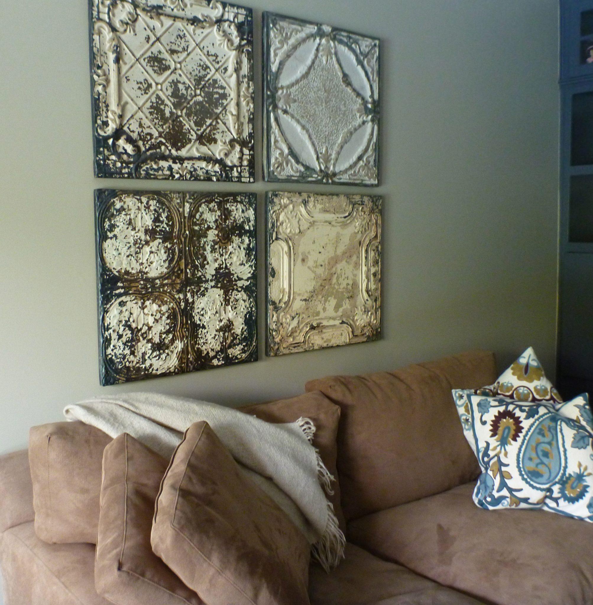 Vintage Tin Ceiling Tiles