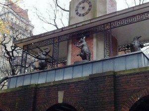 The Delacorte Clock in Central Park