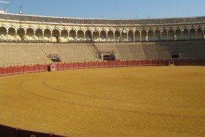 Sevilla bullfighting arena