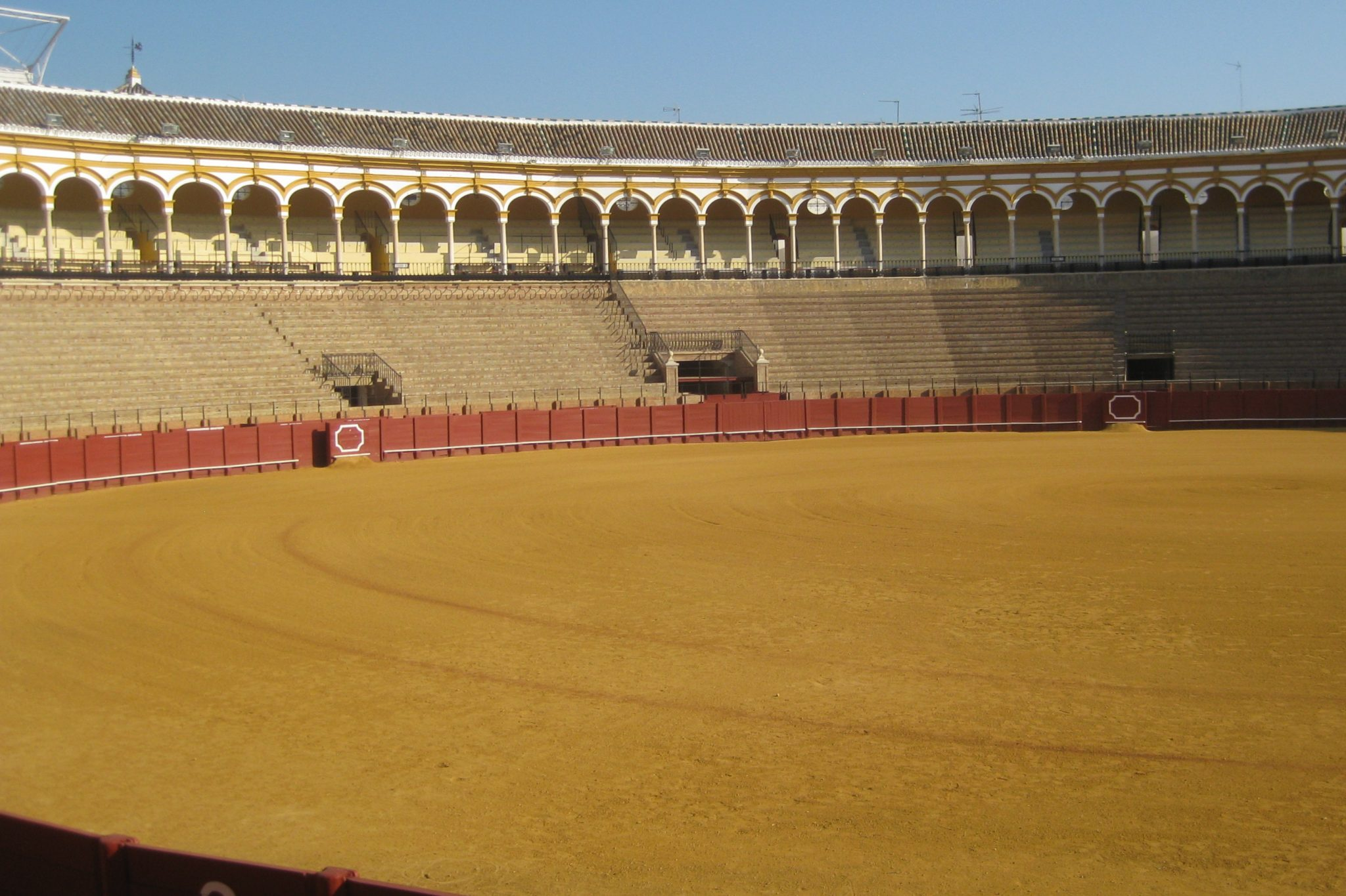 Sevilla bullfighting arena