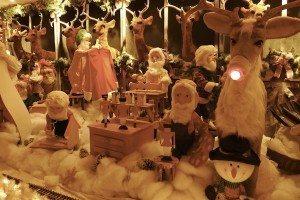 Santa elves reindeer