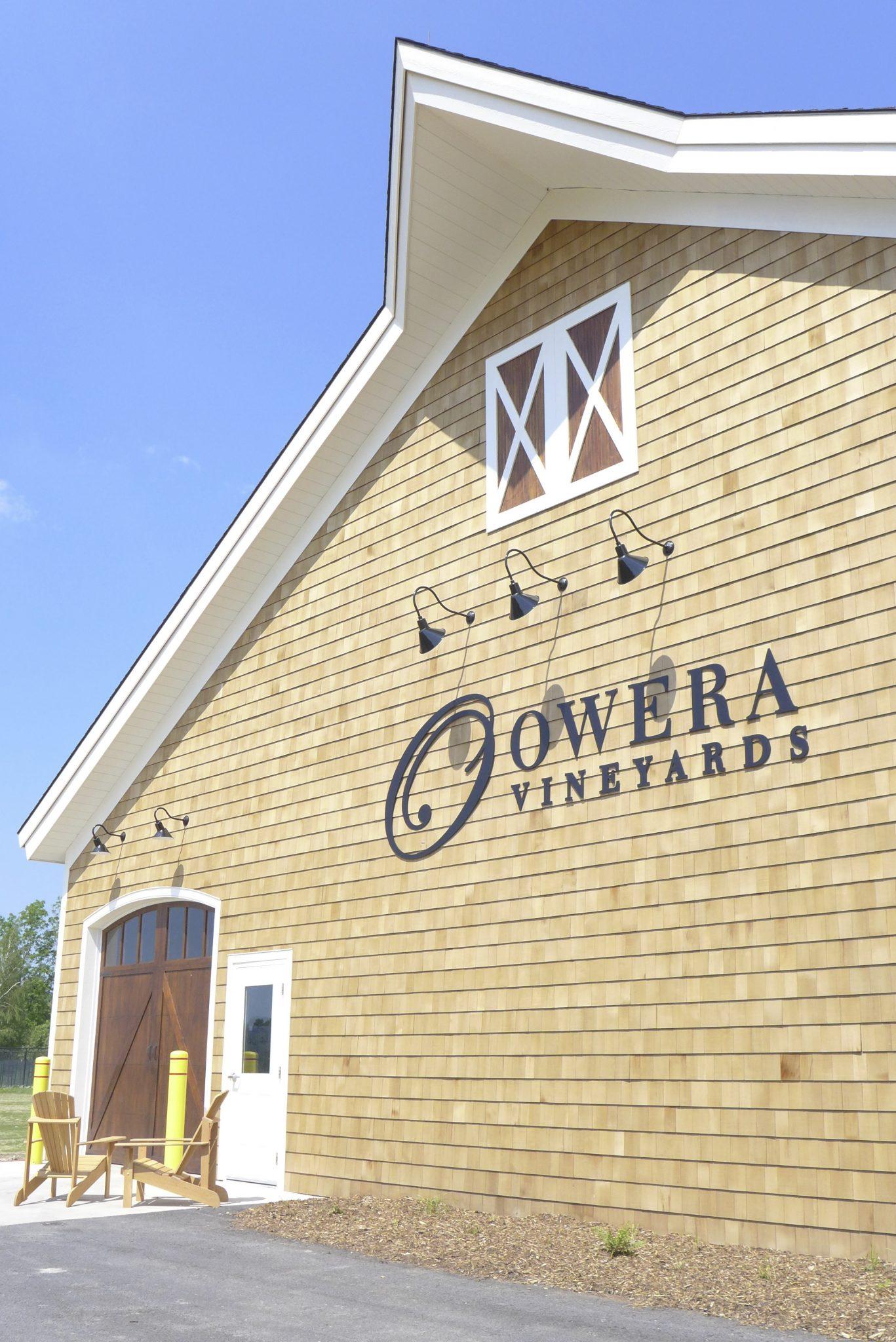 Owera Vineyards wine