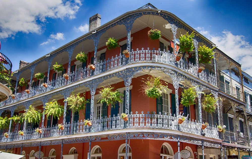 classic new orleans architecture home to classic cuisine like maque choux