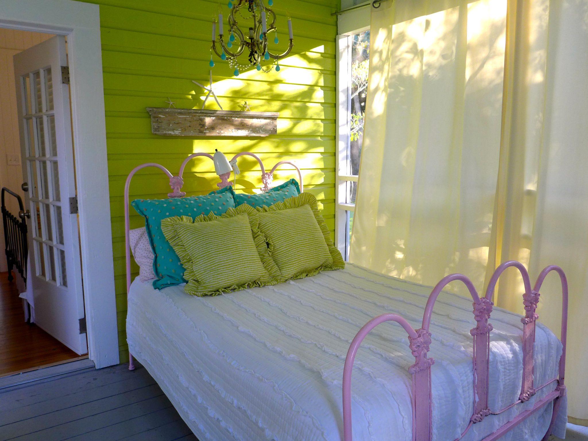 Jane Coslick Cottage sleeping porch Tybee