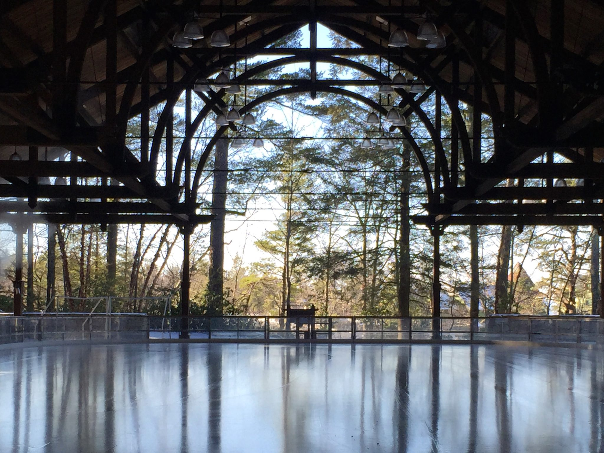 Skating Rink at Mohonk Mountain House