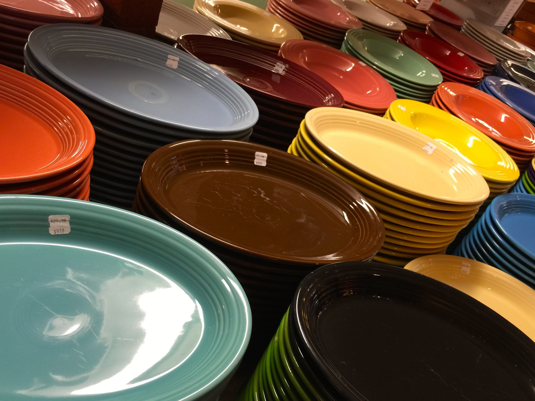 Fiesta Ware ©The_Open_Suitcase_LLC