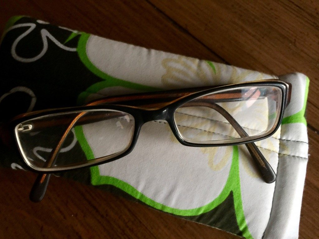 pack a spare pair to help if your forget your glasses when traveling