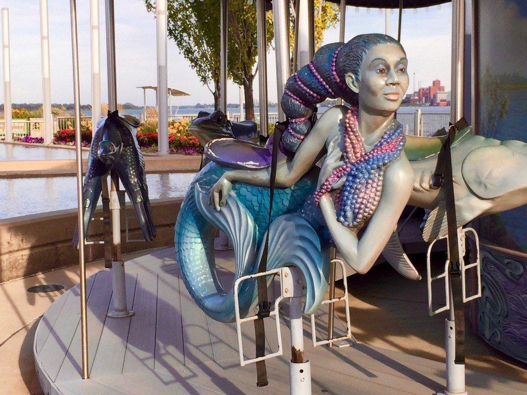 Cullen Family Carousel Detroit Riverfront