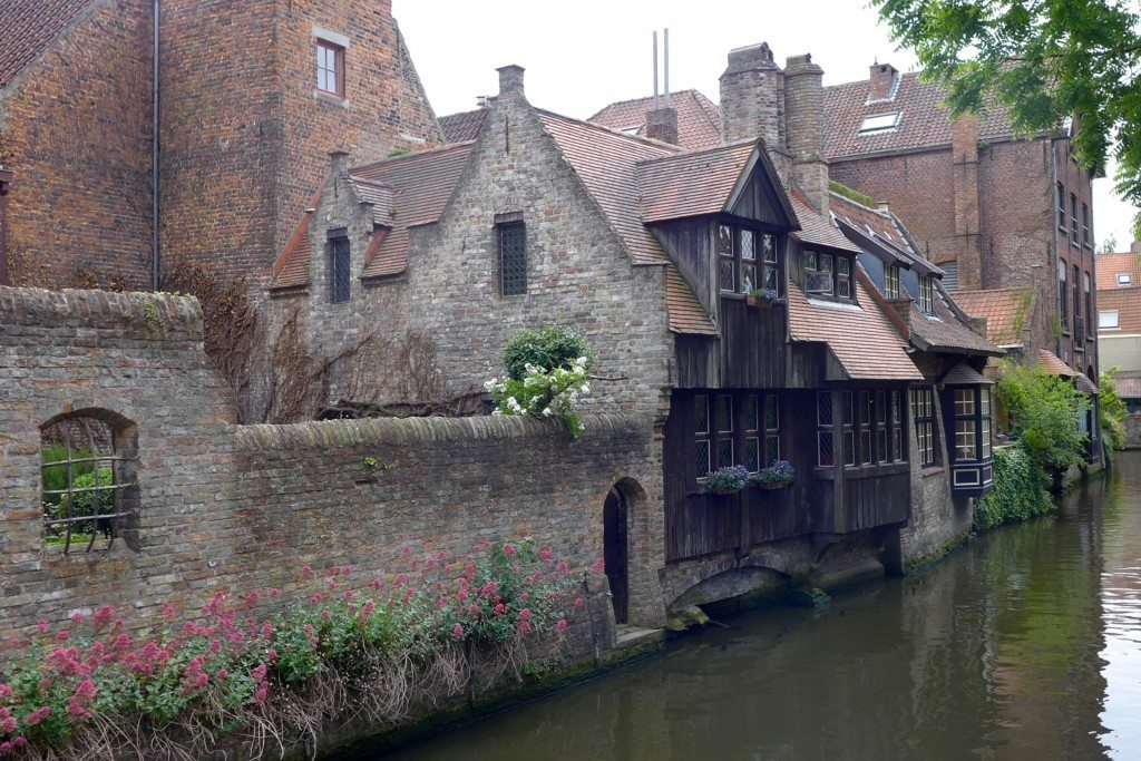 canal in Bruges Belgium