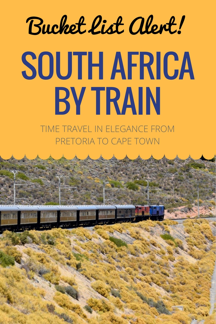 Start your African safari adventure with an train trip through South Africa's Great Karoo aboard Rovos Rail.