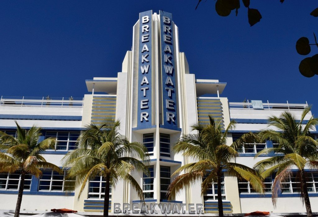 breakwater hotel art deco south beach
