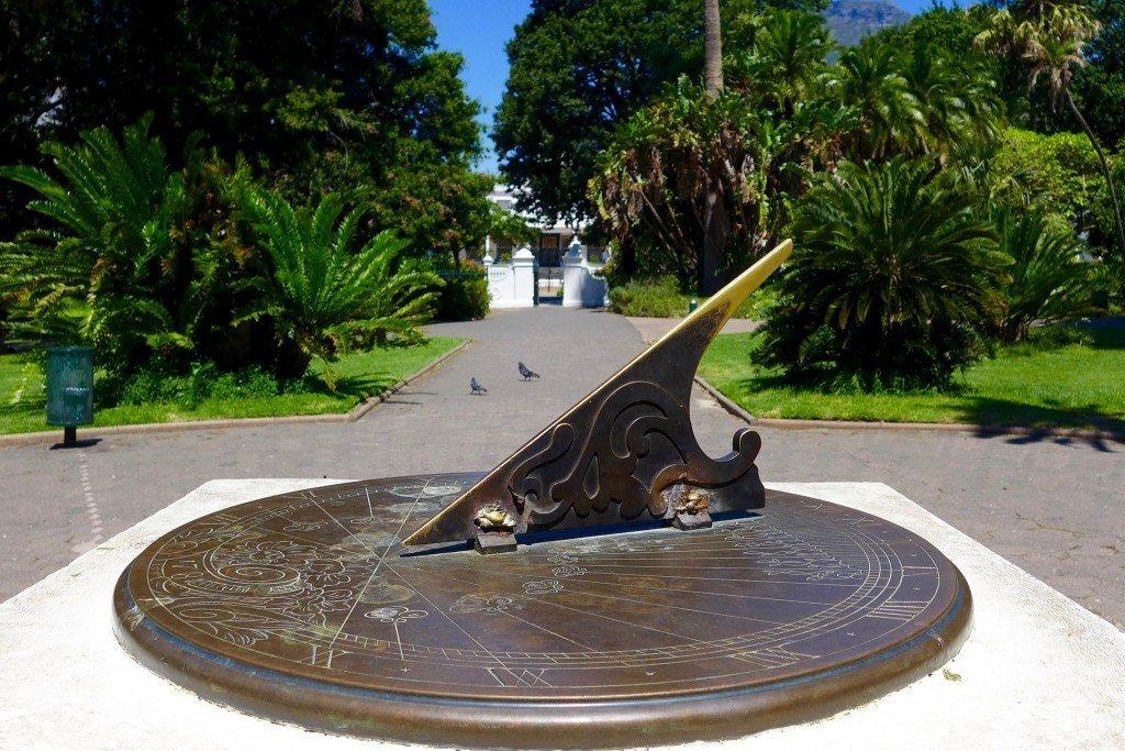company-gardens-capetown-sundial