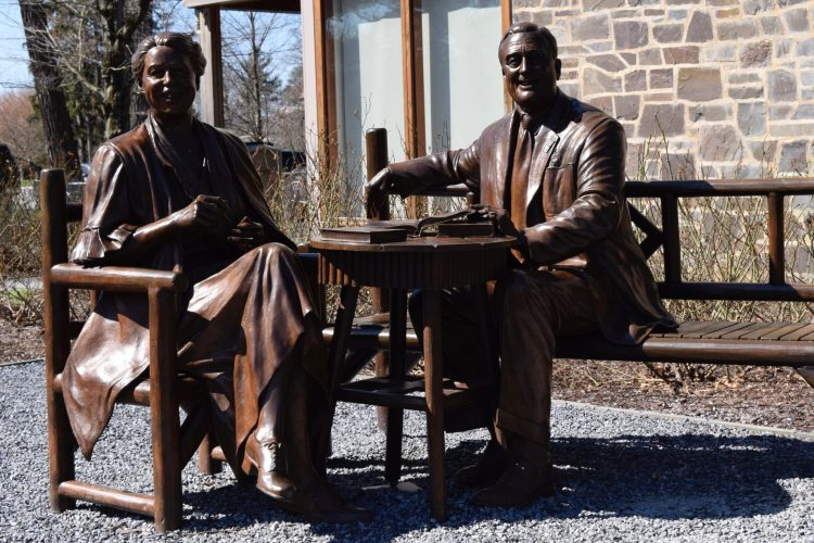 Before There Was Bernie: A Visit to FDR's Home and Library