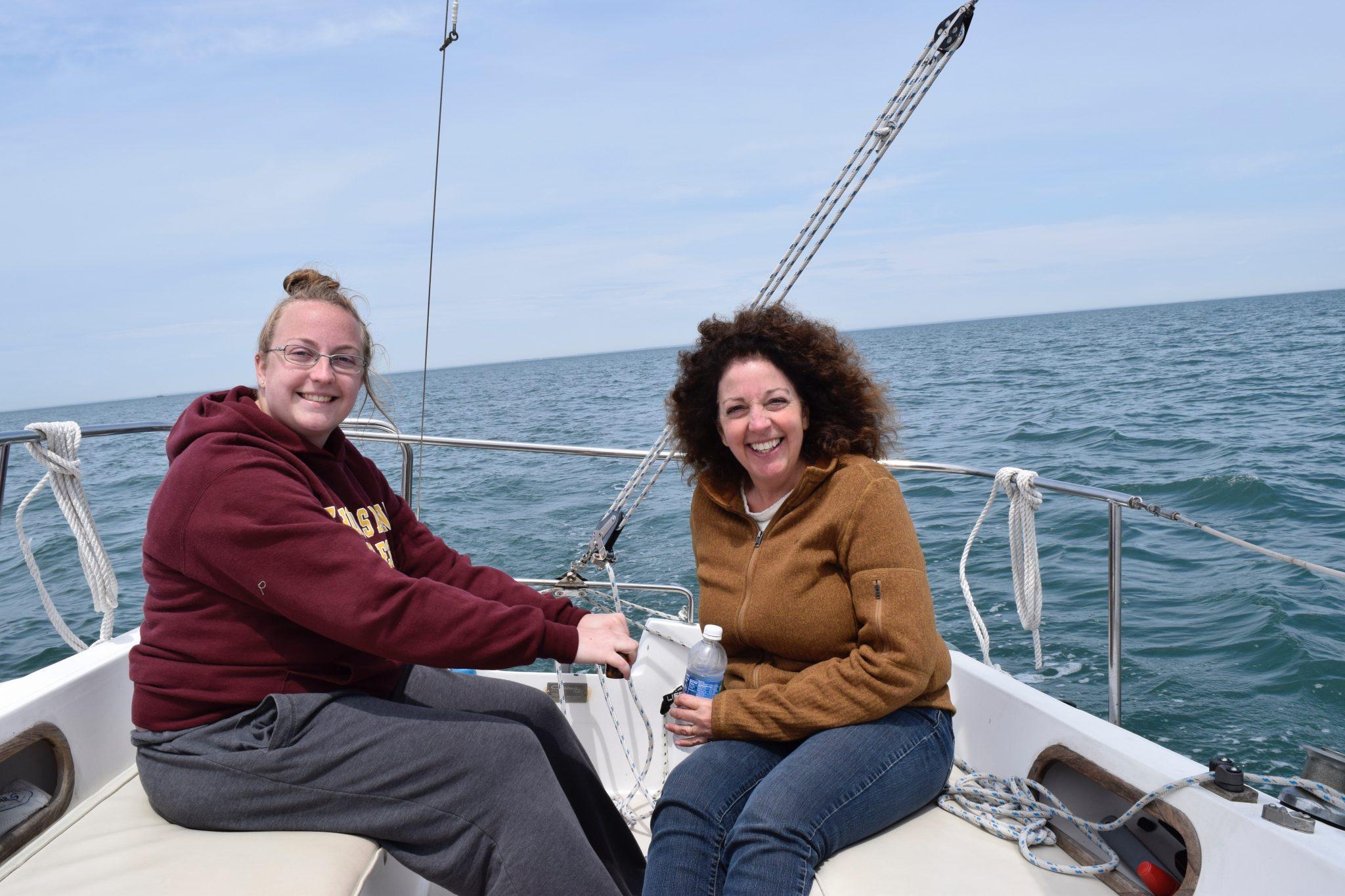 Sailing in Montauk