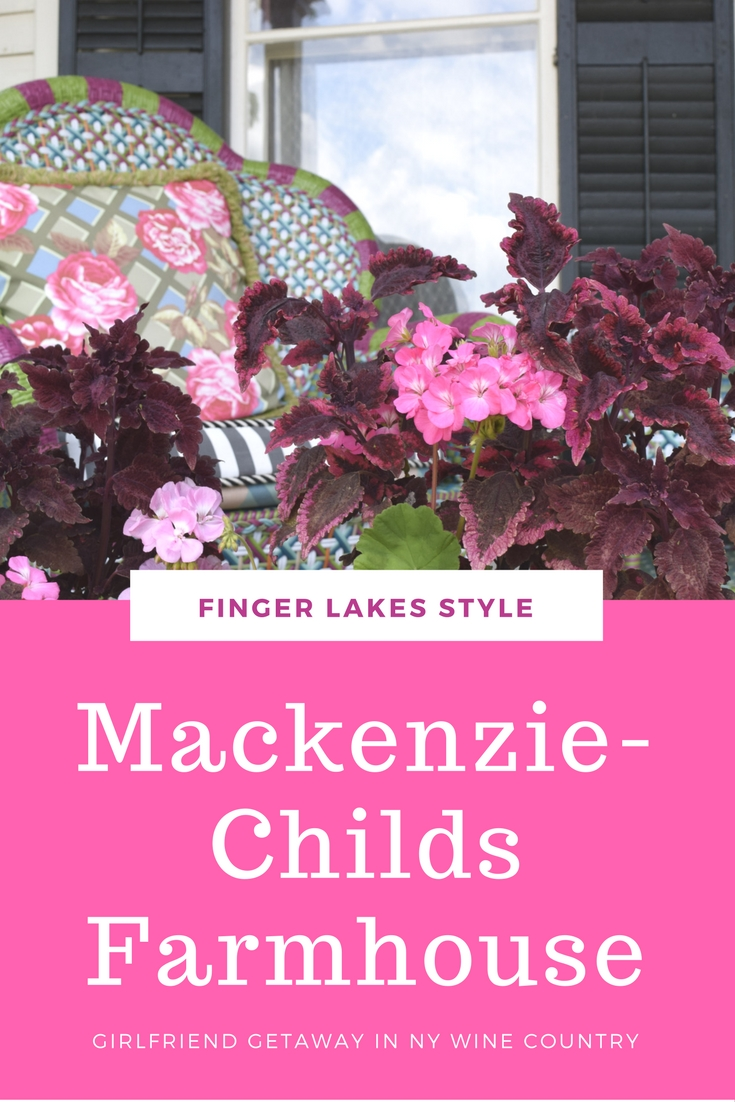 Before there was Fixer Upper. The Mackenzie-Childs Farmhouse in Aurora, NY provides design inspiration and terrific shopping, perfect for your modern farmhouse style. Plus you can visit nearby Finger Lakes wineries.