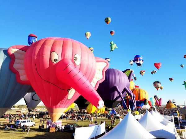 Albuquerque balloon fest.
