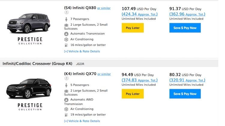 Hertz non-member prices are not a great deal on car rentals.