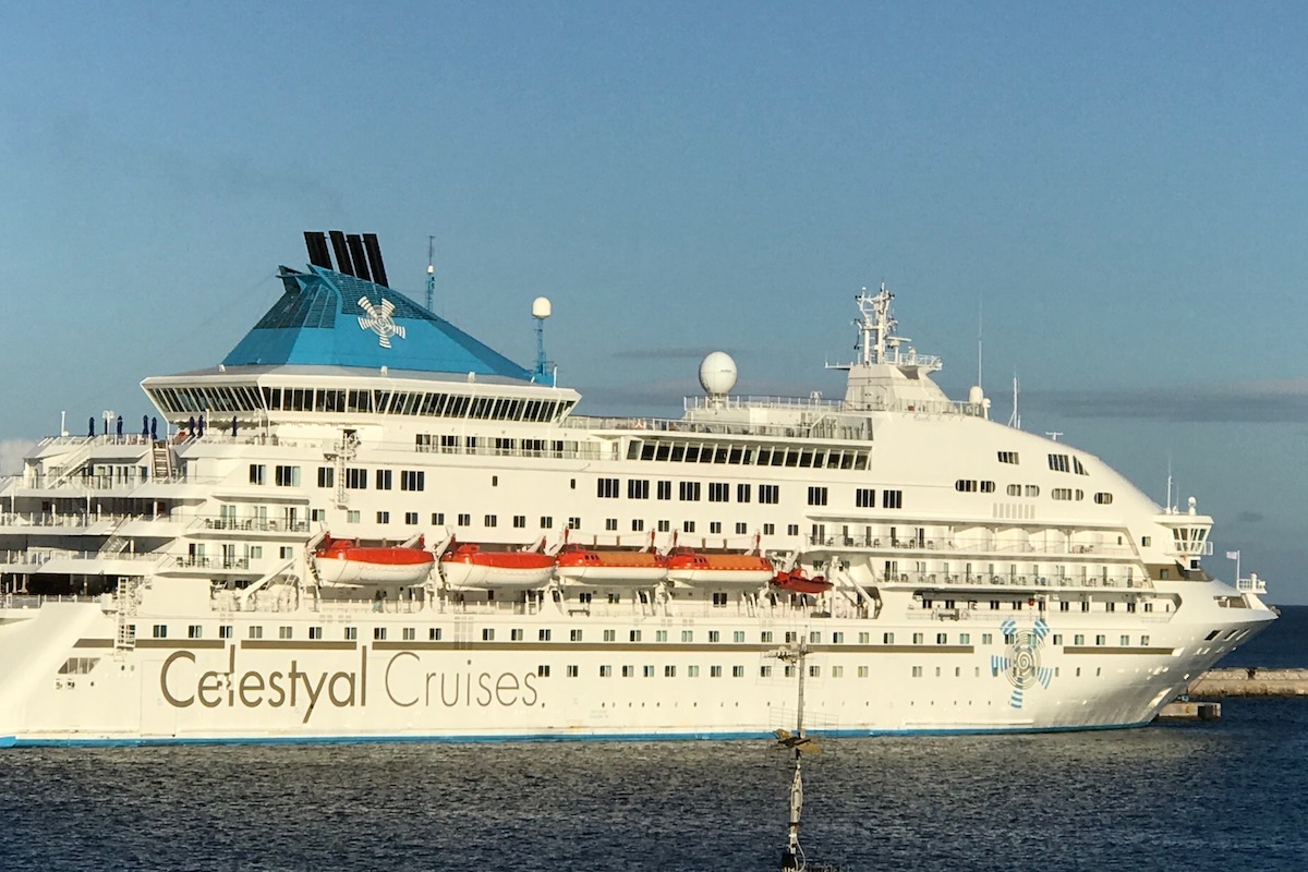 Celestyal Cruise ship in Greece-what to bring on a cruise is easy if you use a printable cruise packing list